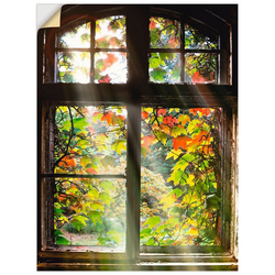 Artland Wandbild Altbau, Fenster & Türen (1 Stück) 30 cm x 40 cm