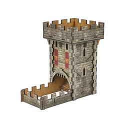 Q-Workshop Spiel, Q-Workshop Dice Tower Medieval / Würfelturm Mittel