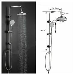 Faizee Möbel Duschsystem Duschsystem Regendusche Duschset Duschgarnitur mit Handbrause Badezimmer Dusche