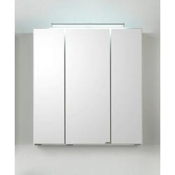 HELD MÖBEL Spiegelschrank Siena Breite 80 cm, mit sparsamer LED-Beleuchtung