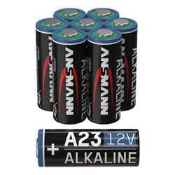 ANSMANN® A23 12V Alkaline Batterie Spezialbatterie - 8er Pack Batterie