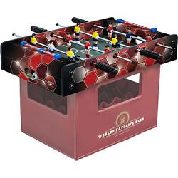Kicker-Bierkasten Rote Waben mehrfarbig