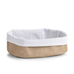 Zeller Aufbewahrungskorb, Universalkorb zur Aufbewahrung von Brot, Gebäck oder Obst, Maße: ca.. 26 x 18 x 11 cm