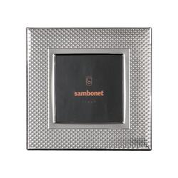 Sambonet Silberrahmen Bilderrahmen Dew versilbert 13 x 13 cm Silberrahmen 59660L31