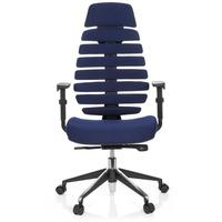 HJH Office Ergo Line II Pro Stoff blau