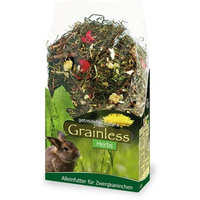 JR Farm Grainless Herbs Zwergkaninchen 400 g