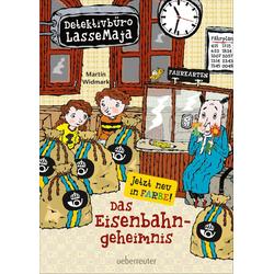 Detektivbüro LasseMaja - Das Eisenbahngeheimnis (Bd. 14): eBook von Martin Widmark
