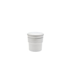 Neuetischkultur Küchenreibe Gewürzreibe Porzellan, Porzellan, (1-St) weiß