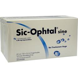 SIC Ophtal Sine Augentr. Augentropfen