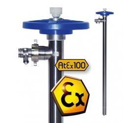 Fasspumpen Pumpwerk aus Edelstahl mit Rotor und Gleitringdichtung