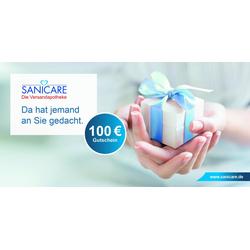 Sanicare Geschenkgutschein 100 Euro