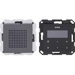 GIRA Einsatz Unterputz-Radio System 55 Anthrazit 228028