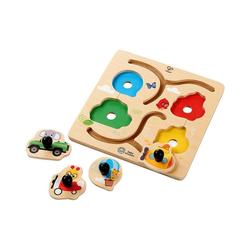 Hape Steckpuzzle Abenteuerpuzzle, Puzzleteile