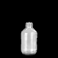250 ml Verpackungsflasche - Klarglas - PP 28