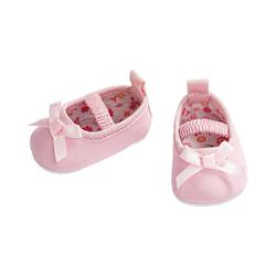 Heless Puppenkleidung Puppen-Ballerinas rosa, Gr. 38-45 cm