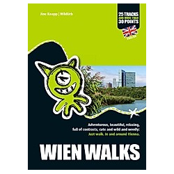 WIEN WALKS. Jine Knapp  - Buch