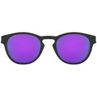 OO9265-55 matte black / prizm violet