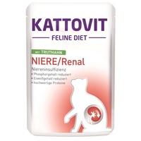 Kattovit Feline Diets Niere Renal mit Truthahn 24 x 85 g