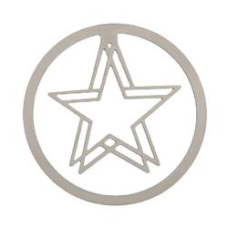 Lesezeichen auf Karte Stern