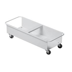 DURABLE Transportroller Durabin Square Trolley Duo 40 weiß 27,0 x 66,5 cm bis 80,0 kg
