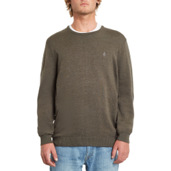 Volcom - Uperstand Sweater Lead - Pullover - Größe: L