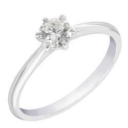 Klassischer Solitär Verlobungsring mit Diamant Vanani