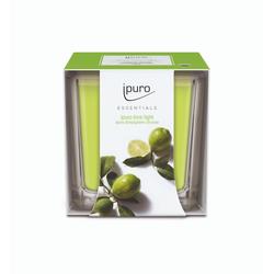 Ipuro Lime Light Duftkerze 125g