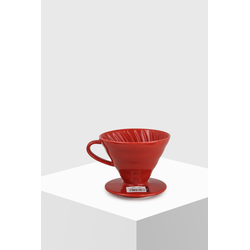 Hario Coffee Dripper V60 02 Ceramic Red Kaffeefilter