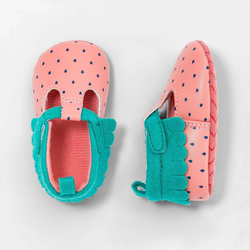 Baby Girls' Strawberry Shoes - Cat & Jack Pink 6-9M