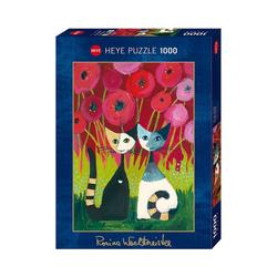 HEYE Puzzle Puzzle Poppy Canopy *,1000 Teile, Puzzleteile