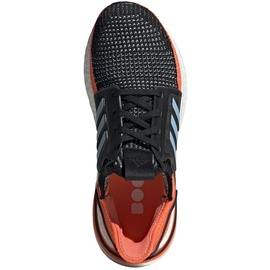 adidas Ultraboost 19 black-orange-blue/ white, 40