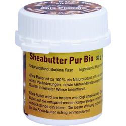 Sheabutter Pur Bio Unraffiniert