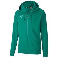 Puma teamGOAL 23 Casuals Hooded Jacket pepper green 3XL