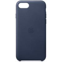 Apple iPhone SE Leder Case mitternachtsblau