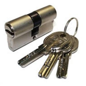 Iseo 8020614048733 Profilzylinder R6 Europea MM.40 (30+10), silber