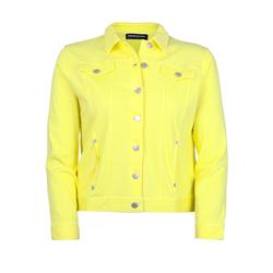 Jeansjacke aus Knit Denim seeyou citron