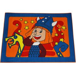 Kinderteppich Wickie Spielteppich, AWE ASSOCIATED WEAVERS, Rechteckig, Höhe 5 mm, 133 x 95 cm
