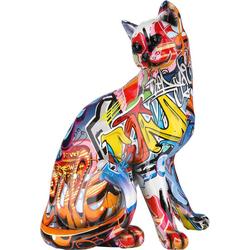 GILDE Dekofigur GILDE Figur Pop Art Katze (1 Stück)
