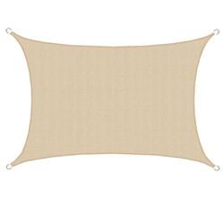 UV Schutz Sonnensegel 3x5 HDPE Sonnenschutz Segel Balkon Segel Sonnendach Creme