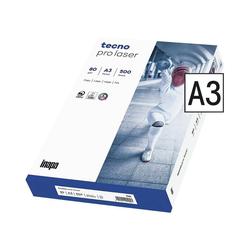 Inapa tecno Druckerpapier Pro Laser, Format DIN A3, 80 g/m²
