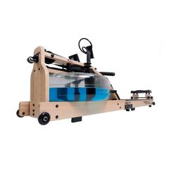 Miweba Sports Rudergerät MR700, Verstellbarer Fußtritt, Klappbar, LCD-Display braun