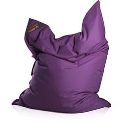 Magma Heimtex Sitzsack Big Foot, für Indoor und Outdoor lila