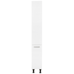 Nobilia Elements Apothekerschrank 300 mm Breite Alpinweiß