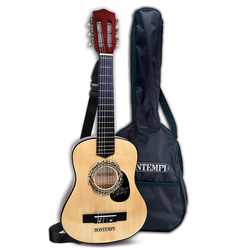 Bontempi Holzgitarre, Holz 75 cm