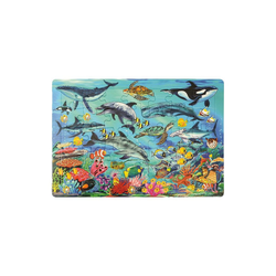 EDUPLAY Puzzle Rahmenpuzzle Meer, 35 Teile, Puzzleteile