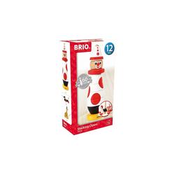 BRIO® Stapelspielzeug Holz Steck-Clown, Edition 60. Geburtstag