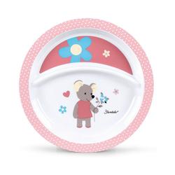 Sterntaler® Kindergeschirr-Set Teller Emmi rosa