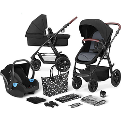Kinderwagen Xmoov, multifunktional, 3in1, schwarz