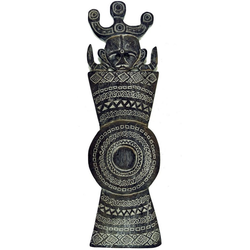 Guru-Shop Wandbild Osttimor Maske, Ethno Maske, geschnitzte Maske..