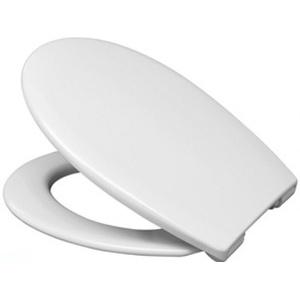 Haro Comfort WC Sitz weiß Fastfix Edelstahl Deckel Toilettensitz Toilettendeckel